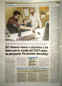 Noticia en La Tribuna de Toledo