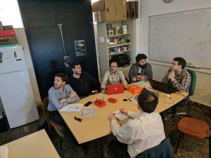 Miembros de EC-Innova y el grupo GISAI reunidos